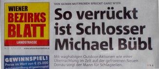 Bezirksblatt, Schlosser, Bübl