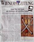 Wienerzeitung, Suizid, Schl�sseldienst